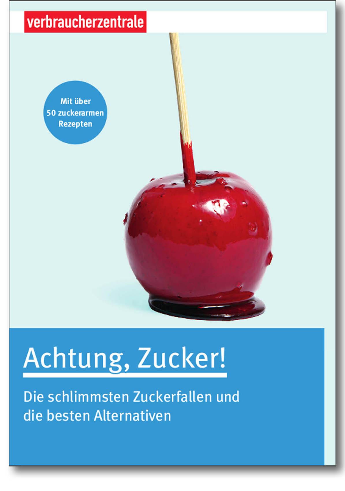 Buch - Achtung Zucker - Verbraucherzentrale Hamburg