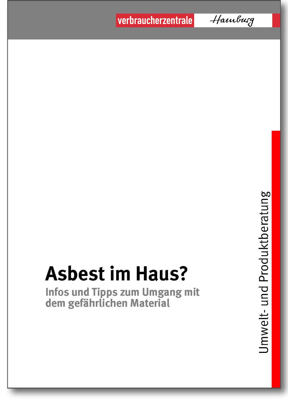 Infobroschüre - Asbest im Haus - Verbraucherzentrale