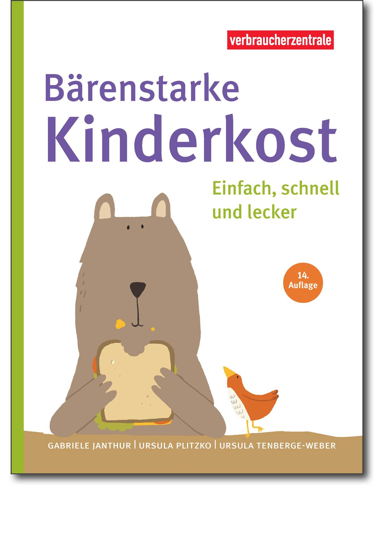 Buch - Bärenstarke Kinderkost - Verbraucherzentrale