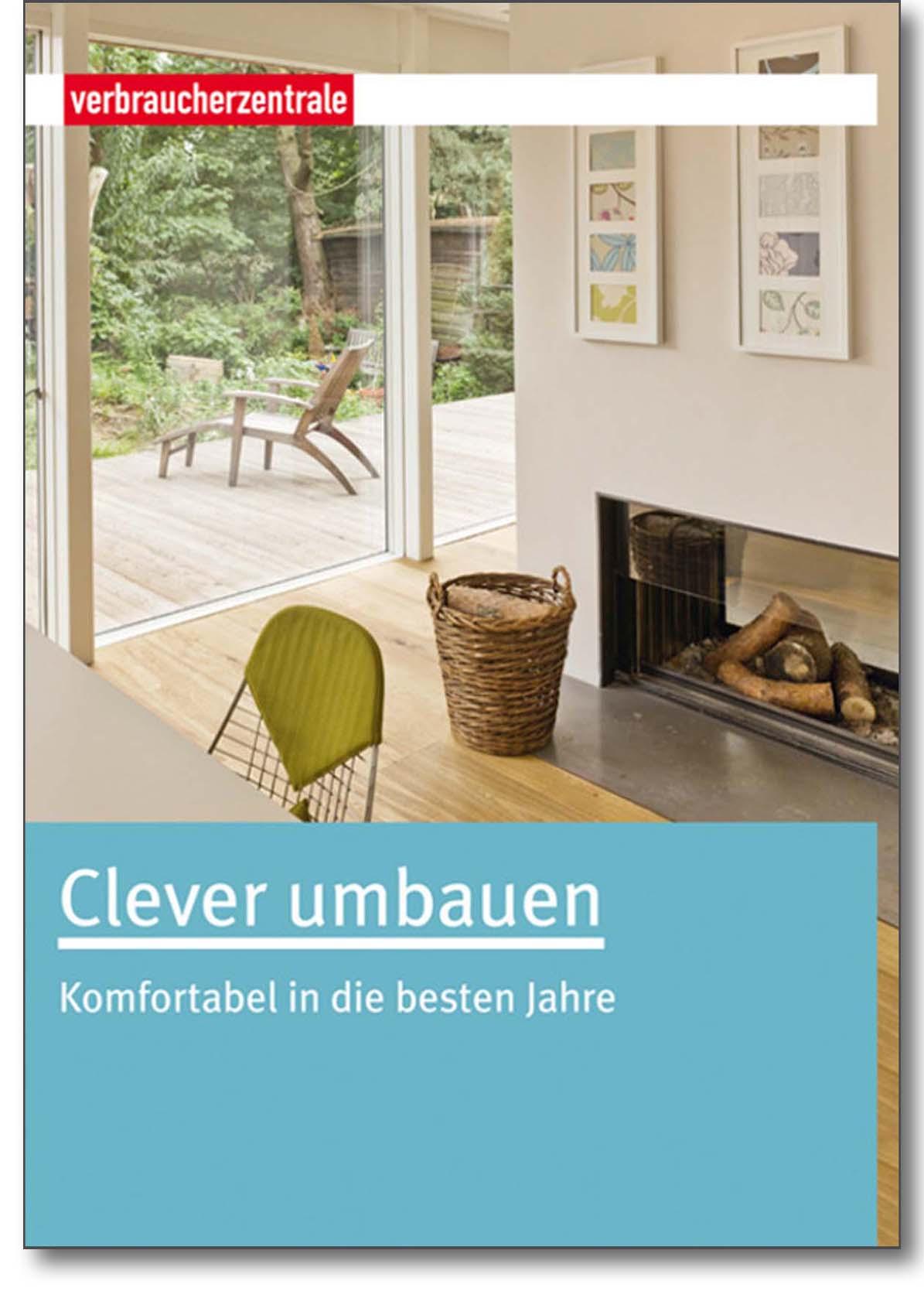 Buch - Clever umbauen - Verbraucherzentrale