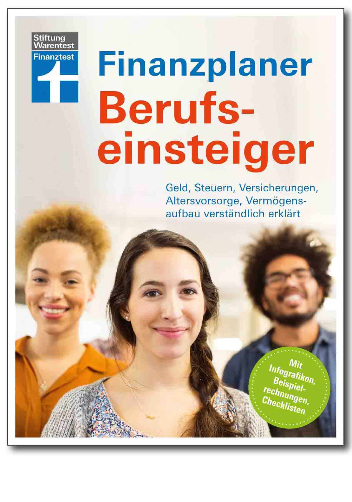 Buch - Finanzplaner Berufseinsteiger - Shop Verbraucherzentrale