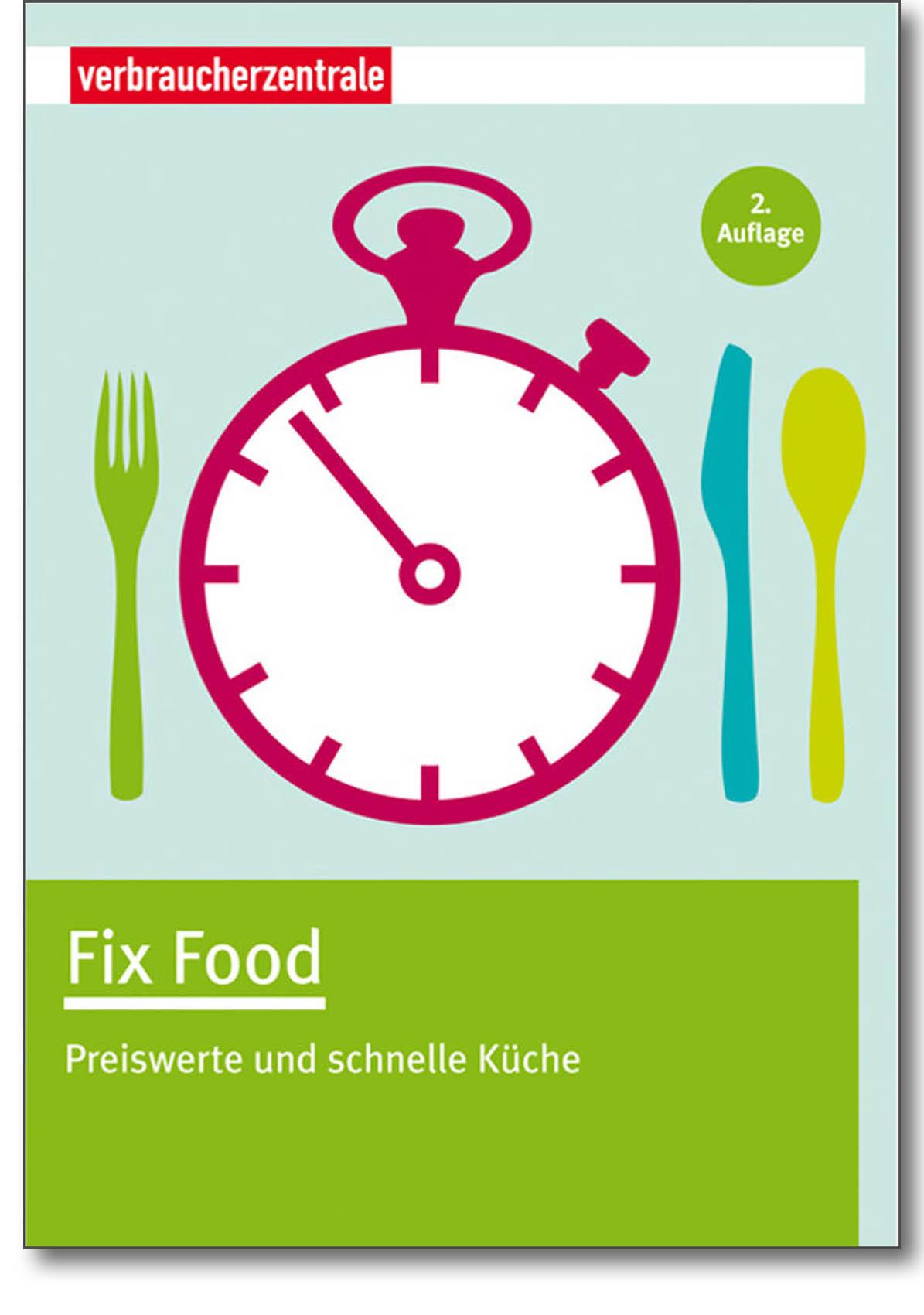 Buch - Fix Food - Verbraucherzentrale