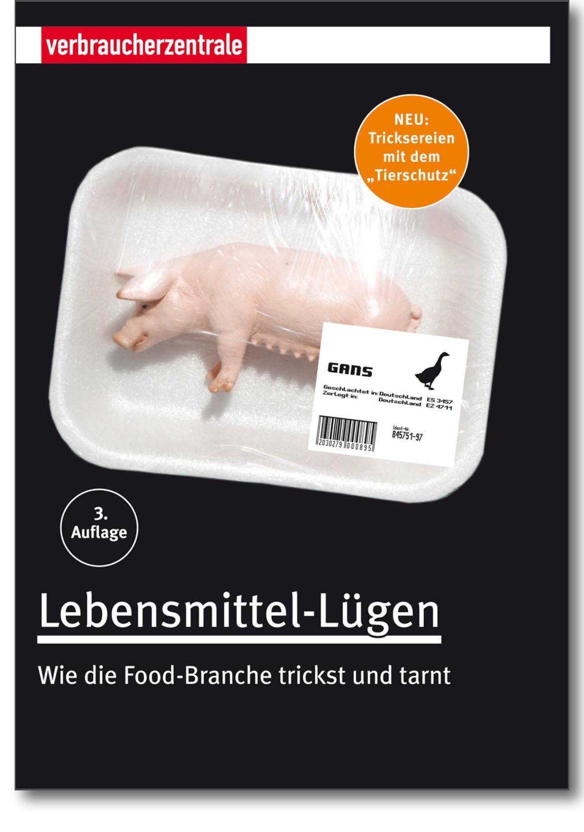 Buch - Lebensmittel-Lügen - Verbraucherzentrale Hamburg