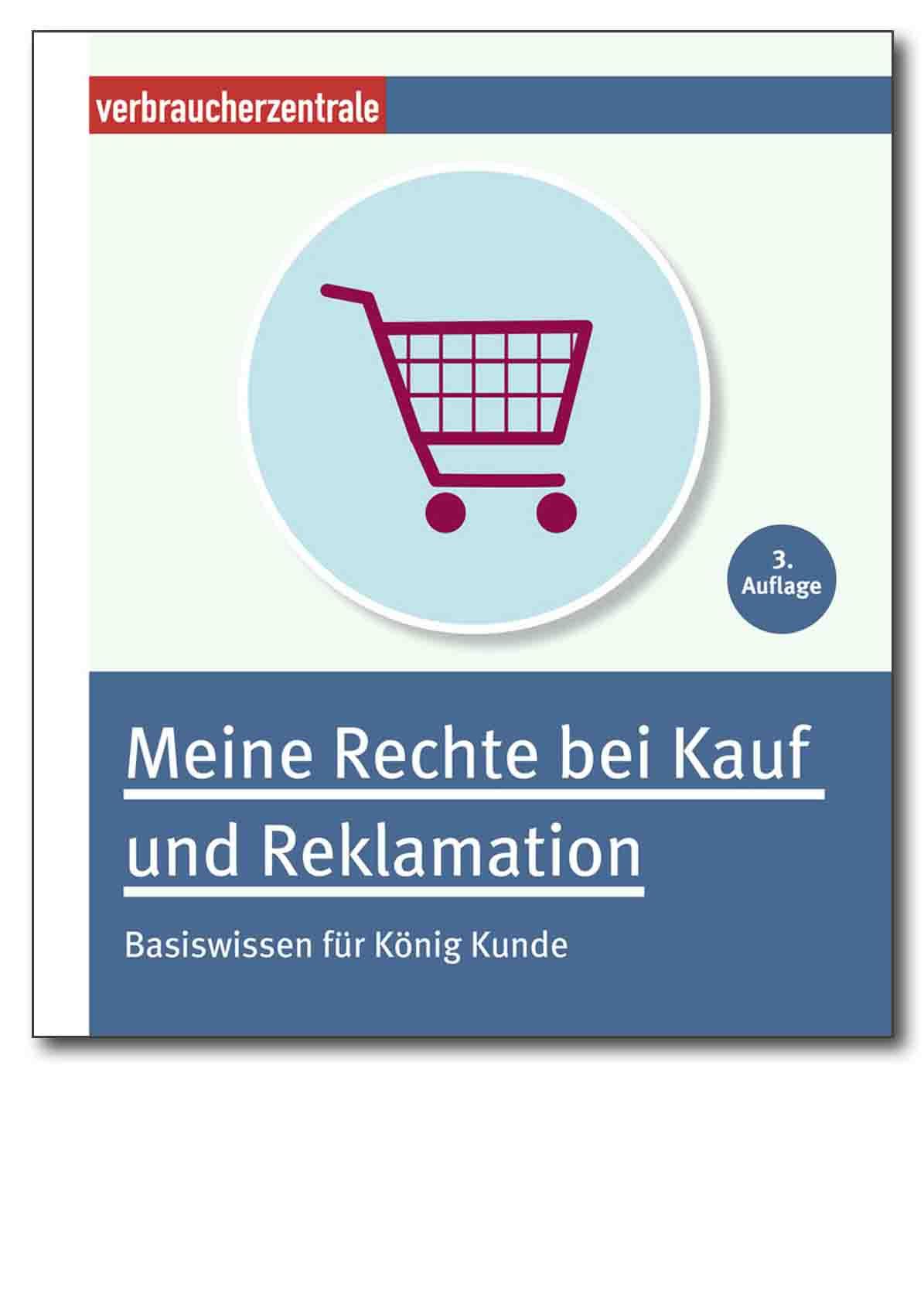E-Book - Meine Rechte bei Kauf und Reklamation - Verbraucherzentrale