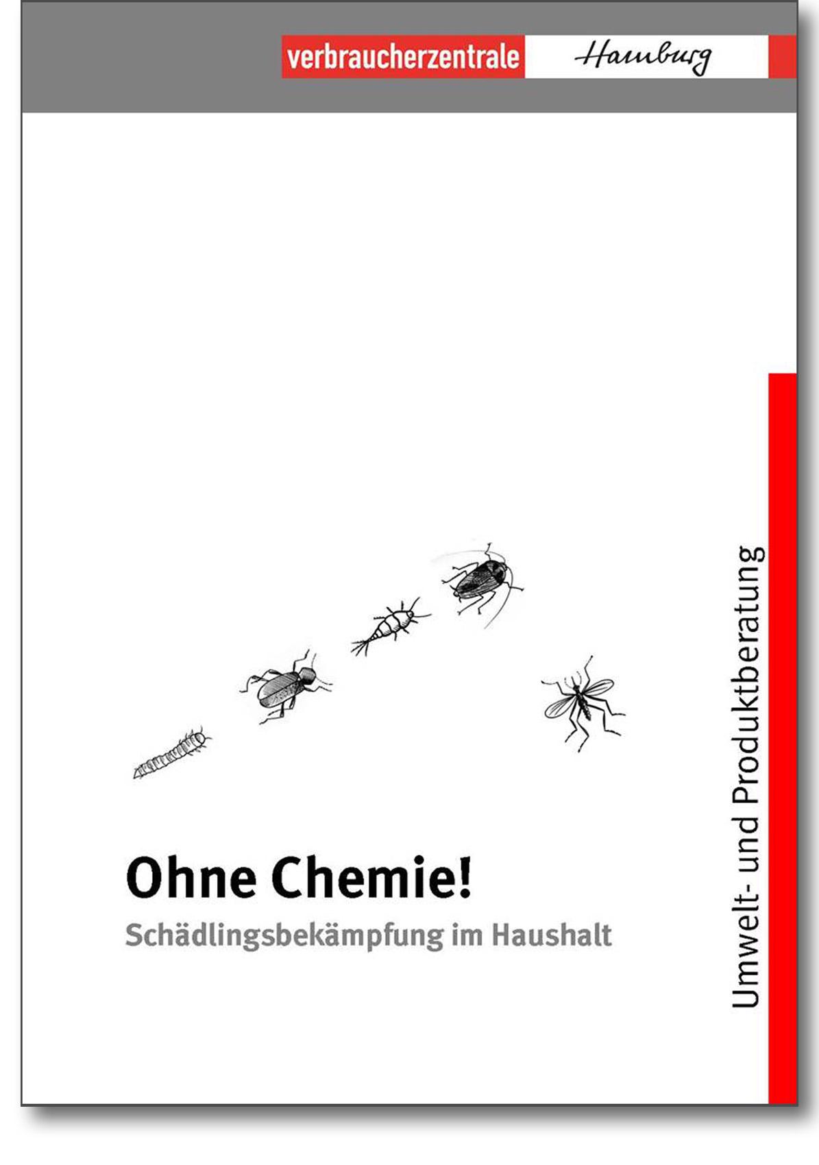 Infobroschüre - Ohne Chemie! Schädlingsbekämpfung im Haushalt - Verbraucherzentrale