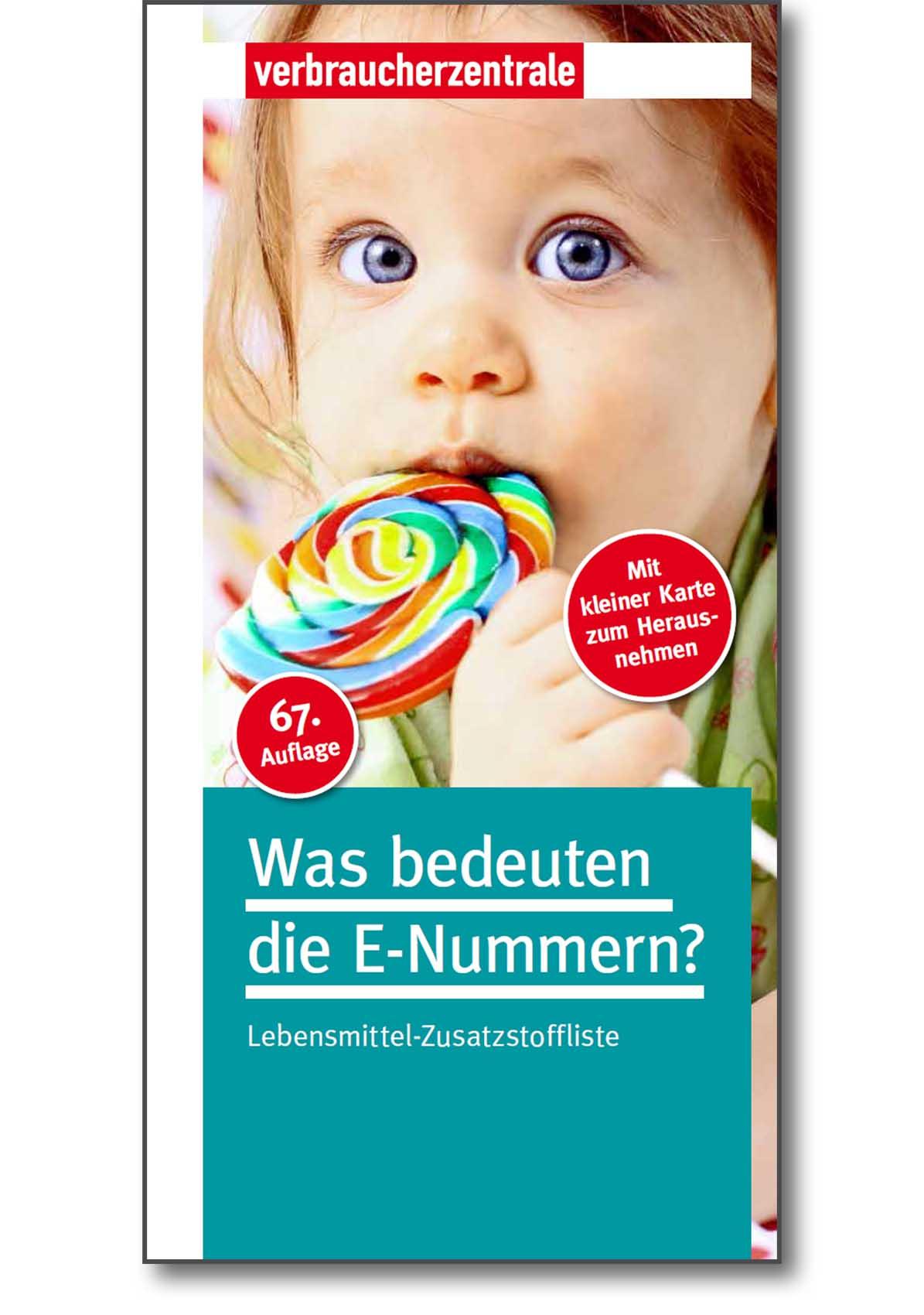 Ratgeber - Was bedeuten die E-Nummern - Verbraucherzentrale Hamburg