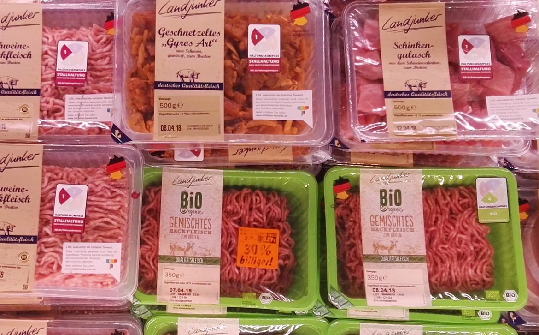Frischfleisch Kennzeichnung