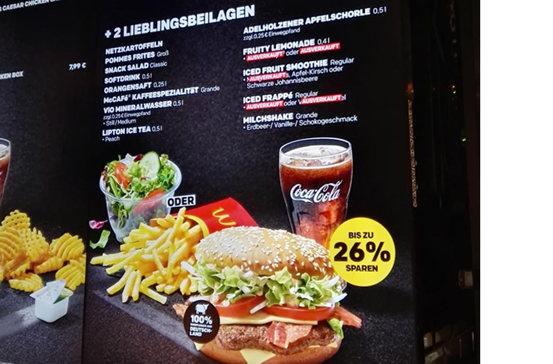 McDonald\'s: Kein Wasser am Automaten   Verbraucherzentrale Hamburg