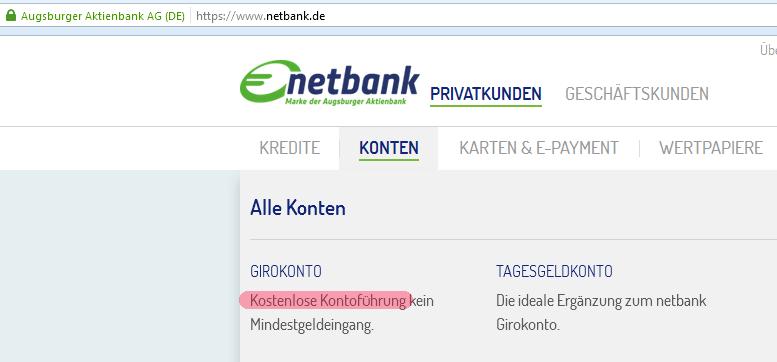 Netbank Probleme