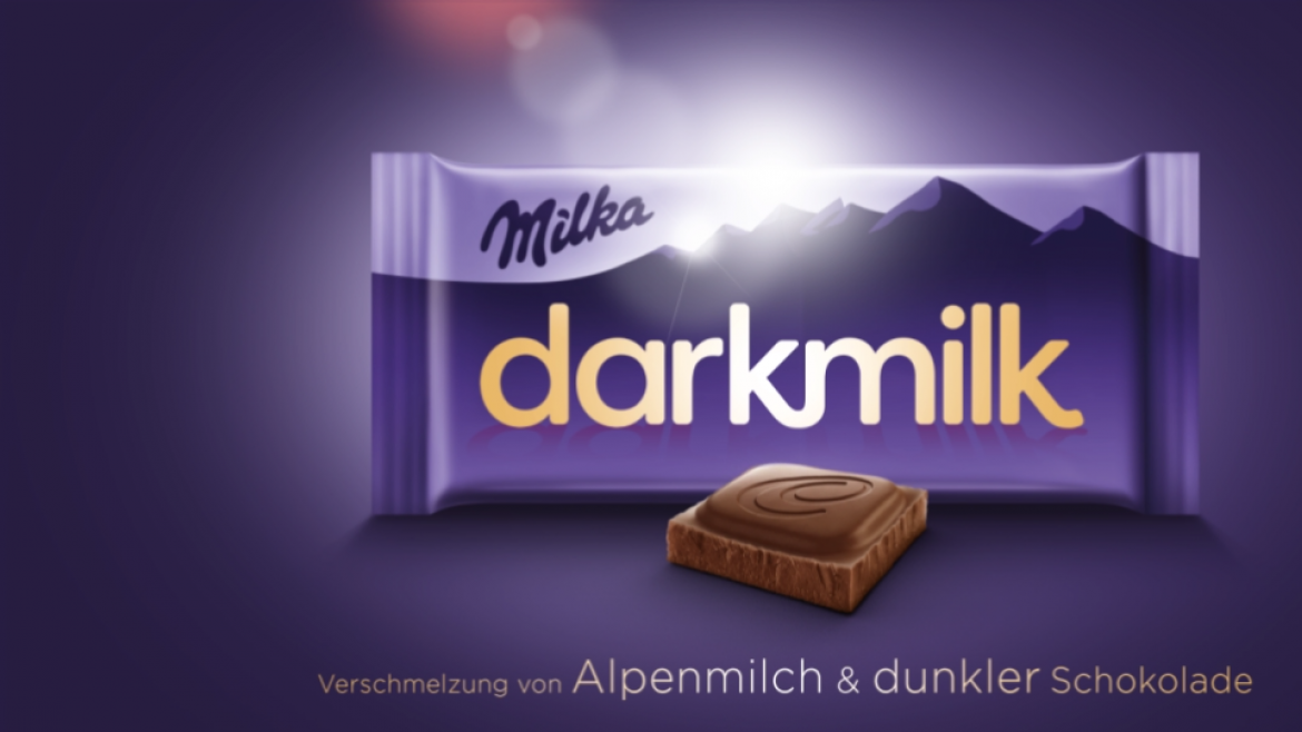 Mogelpackung: Milka Darkmilk Website Screenshot (2018)