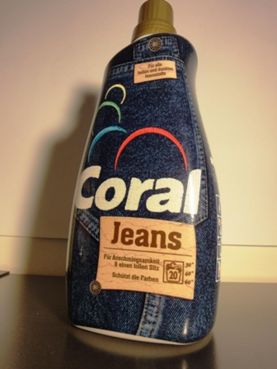 Flasche Coral Jeans