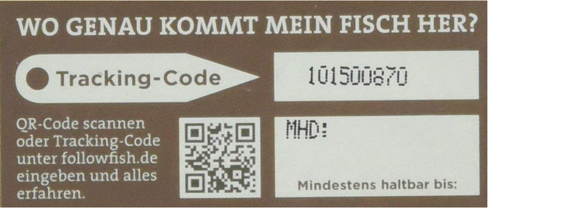 Fisch: Tracking Code von Followfish