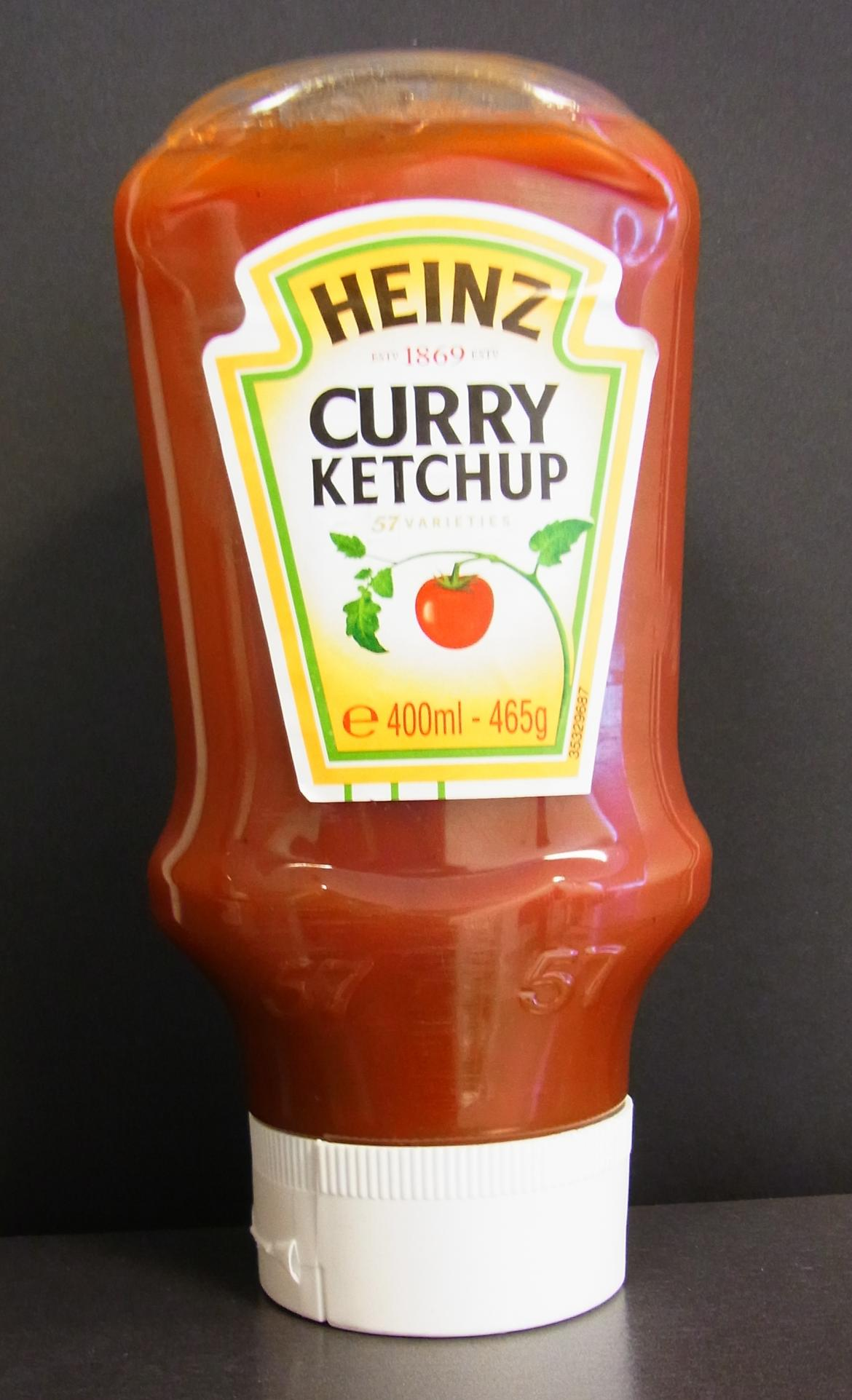 Mogelpackung: Heinz Curry Ketchup 400 Gramm