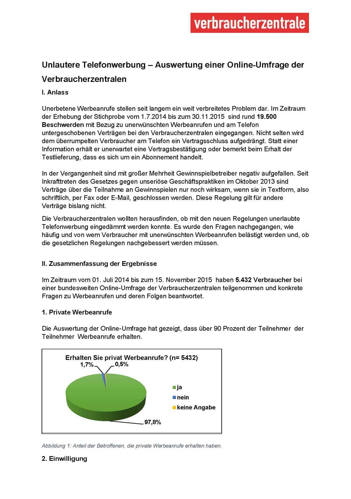 Telefonwerbung Das Sollten Sie Wissen Verbraucherzentrale Hamburg