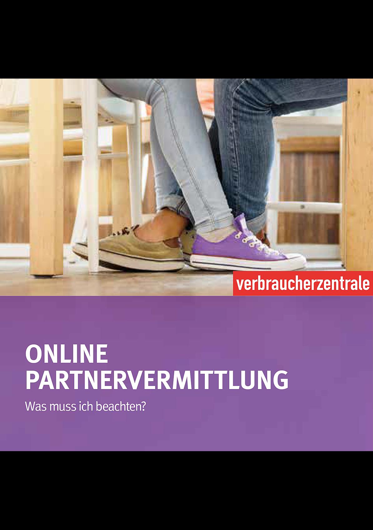 Partnervermittlung verbraucherzentrale